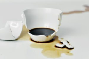 Broken Coffee Cup
